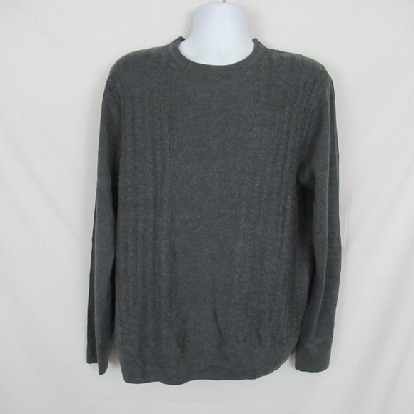 Dockers Other - Dockers Sweater Gray Mens size Large NEW